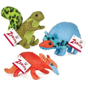 Zanies Freckles Friends – Armadillo, Hedgehog and Squirrel